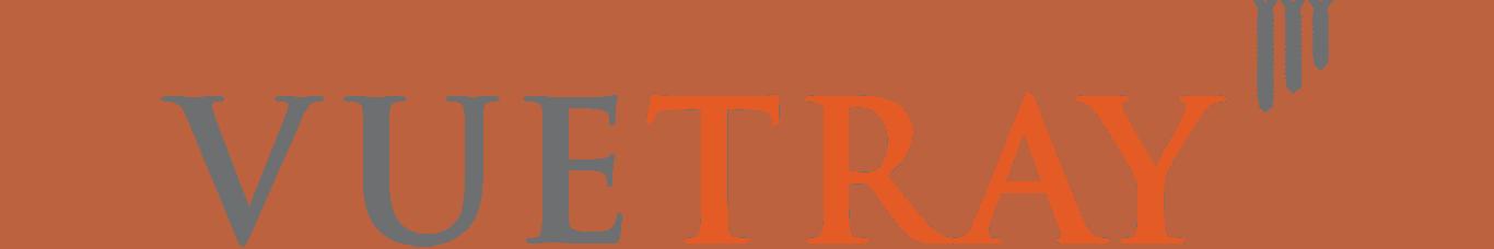 VueTray logo