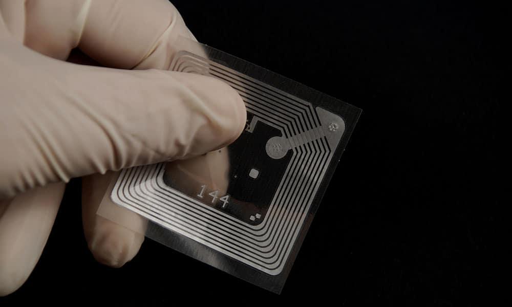 RAIN-RFID microchip