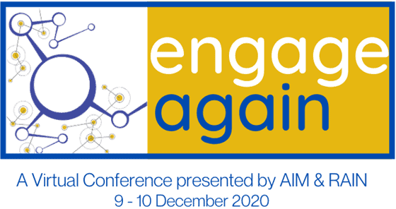 Engage Again A Virtual Conference presented by AIM and RAIN