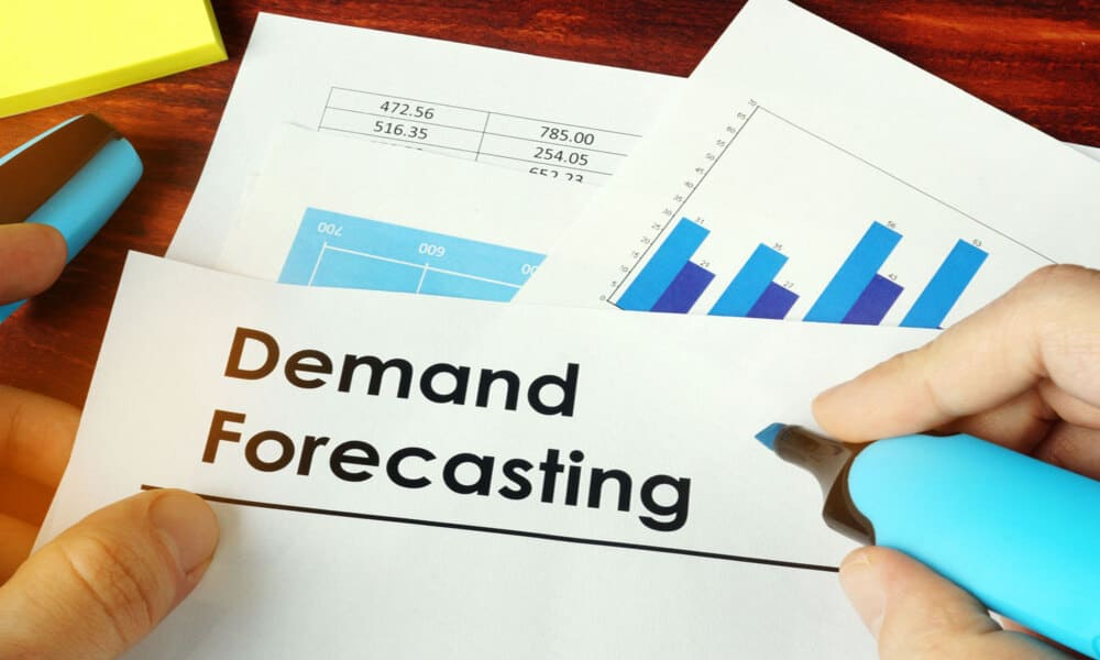 Demand forecasting and planning